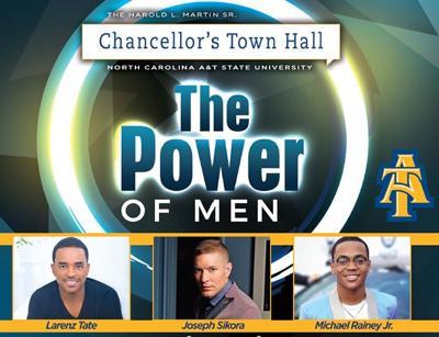 NCAT chancellors town hall flyer