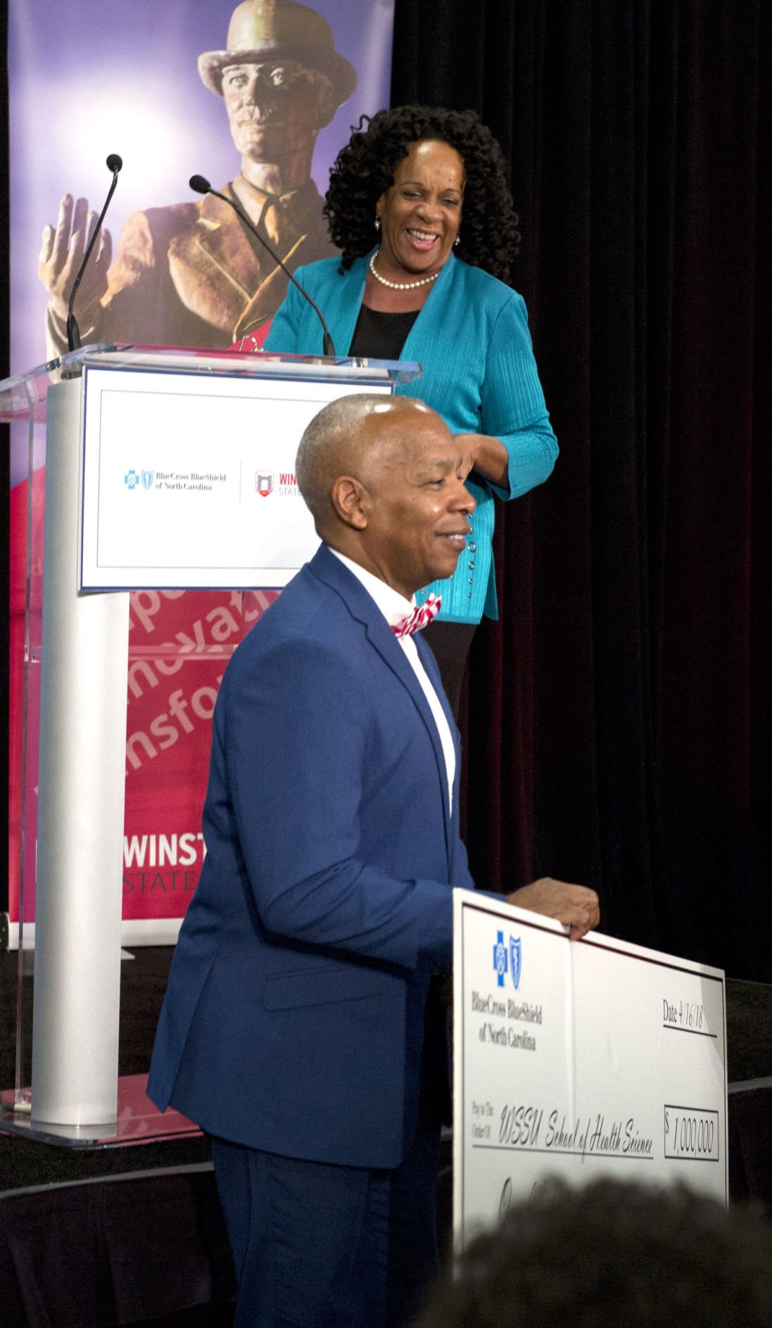 Blue Cross N.C. makes $1 million donation to WSSU's nursing program | Winston Salem Journal