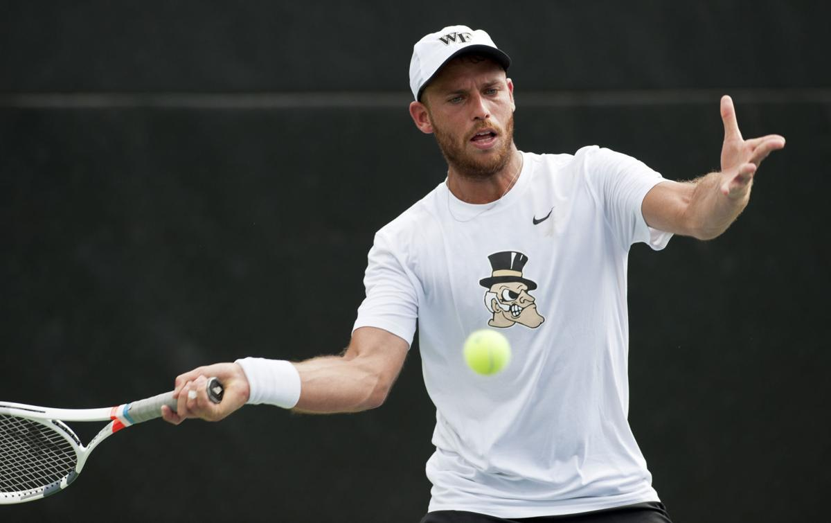 Wake Forest Kentucky tennis