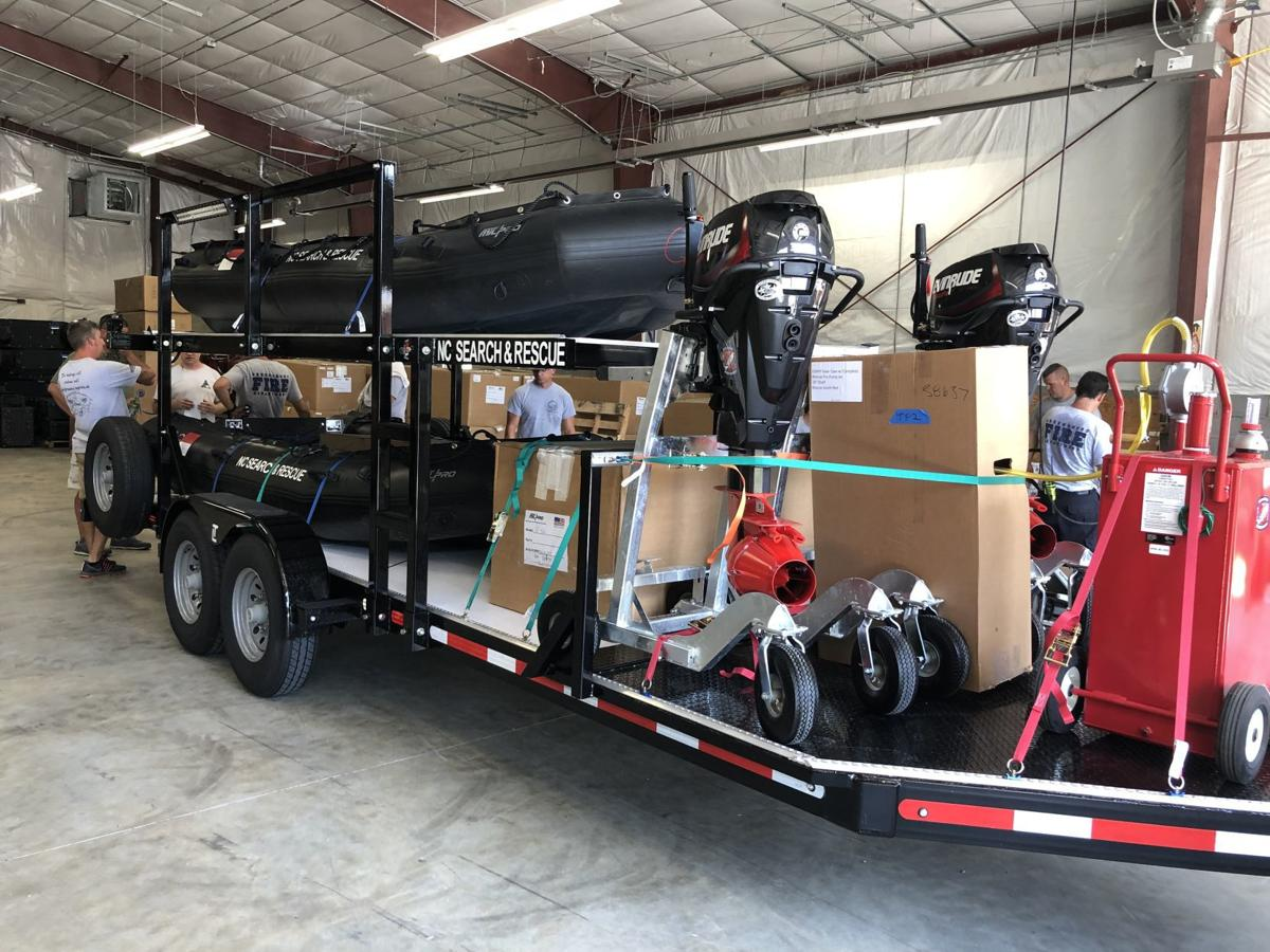 Greensboro Fire Department gets new swift water rescue equipment