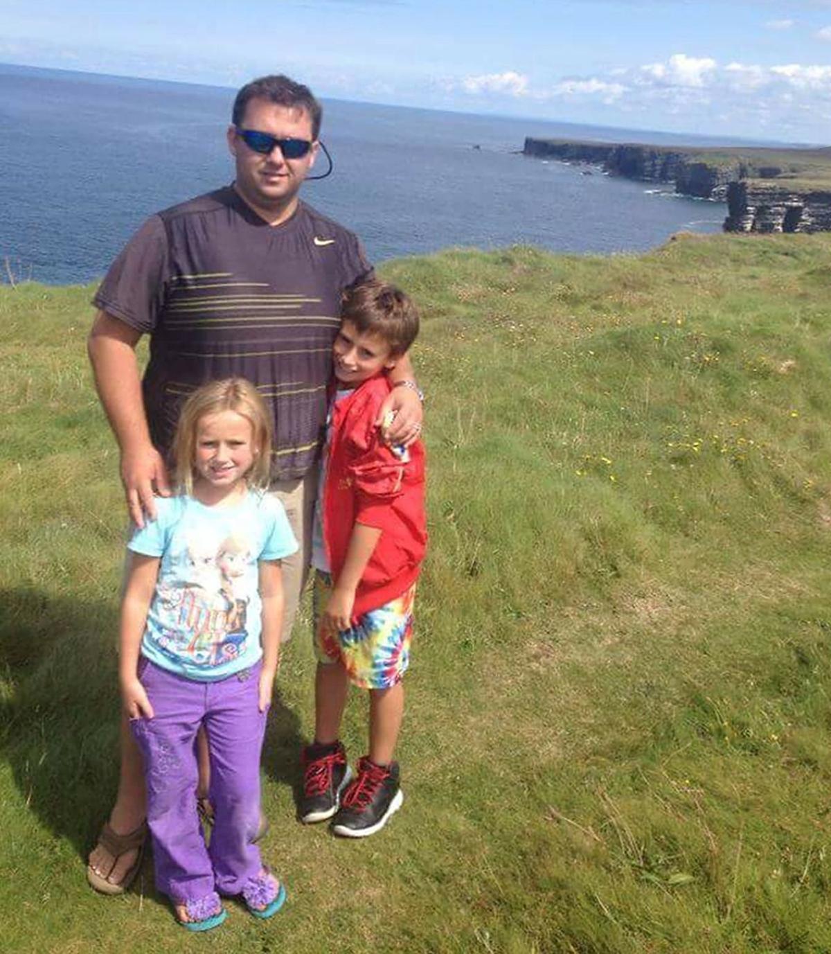 Jason Corbett with children