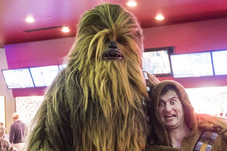 Winston-Salem fans come out full force for new 'Star Wars' movie