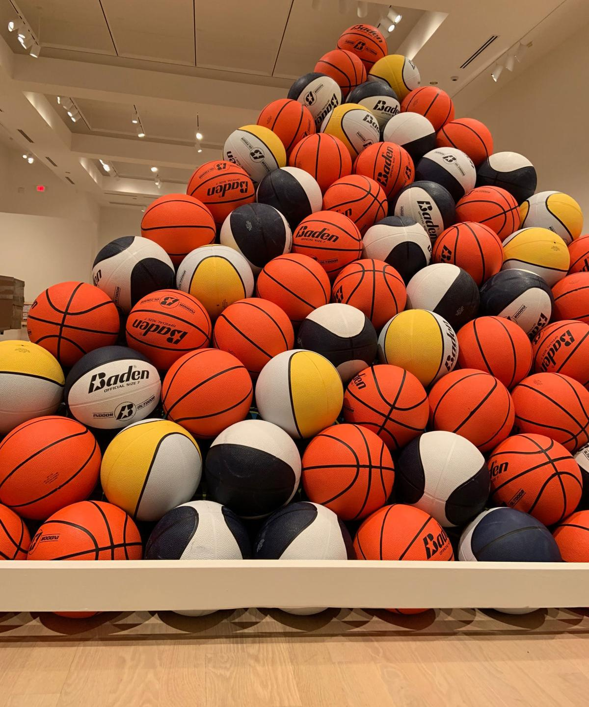 Weatherspoon Exhibit Showcases The Art Of Basketball Sport Journalnow Com