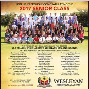 Wesleyan Christian Academy - Congrats Class of 2017