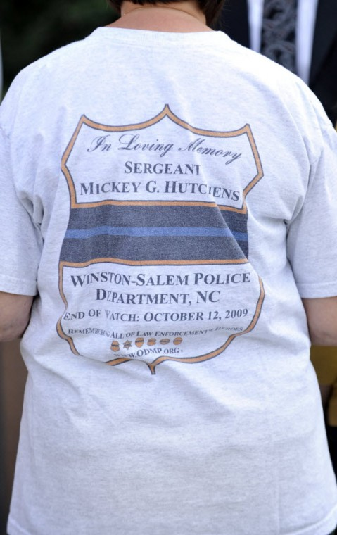 Memorial for Sgt. Mickey Hutchens