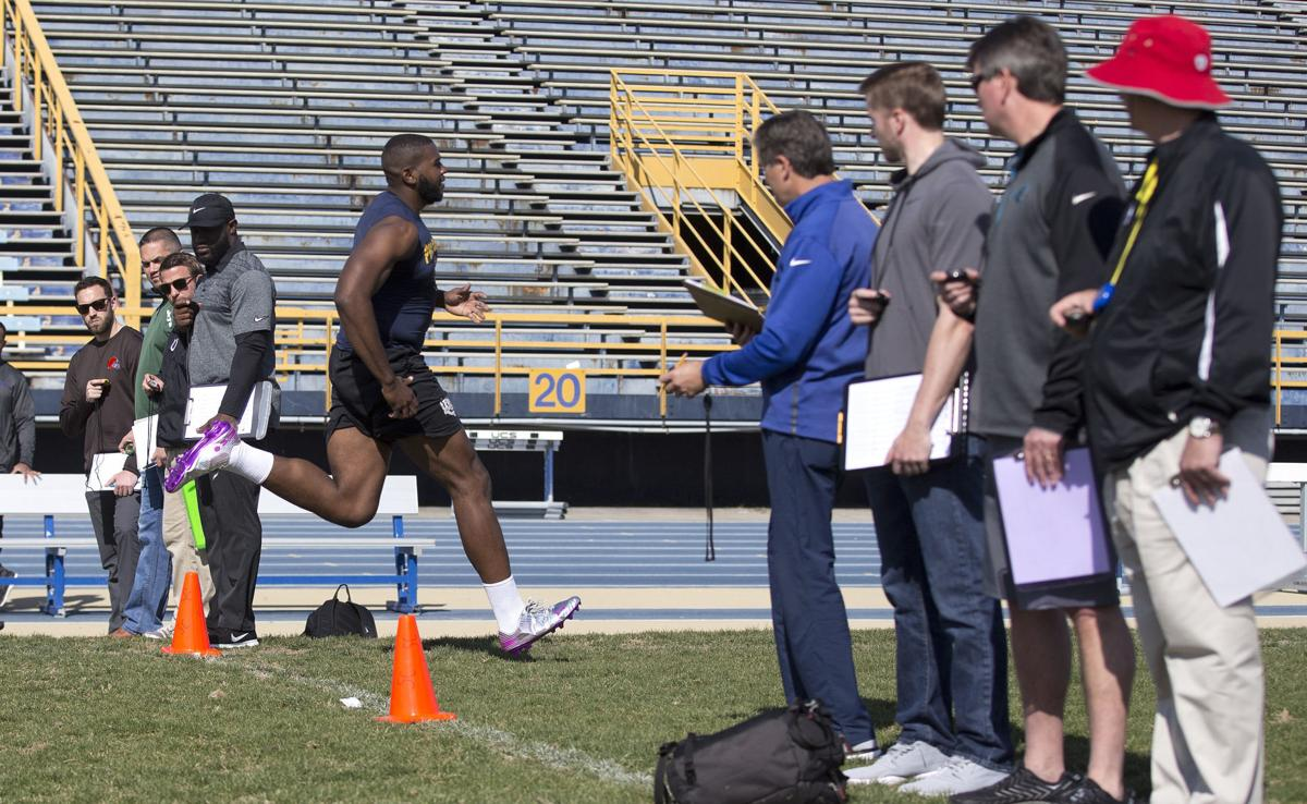 Pro Day for A&T's Brandon Parker