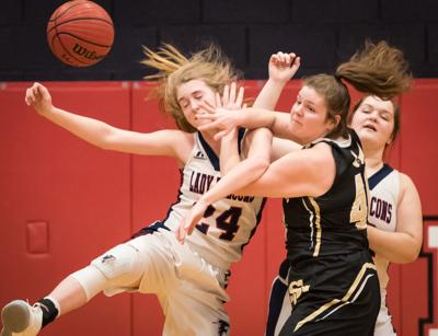 Forbush Surry Central Girls Basketball