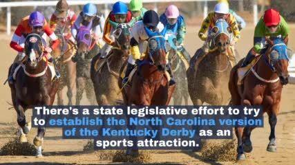 Forsyth senator seeks NC version of Kentucky Derby; where in state is unclear