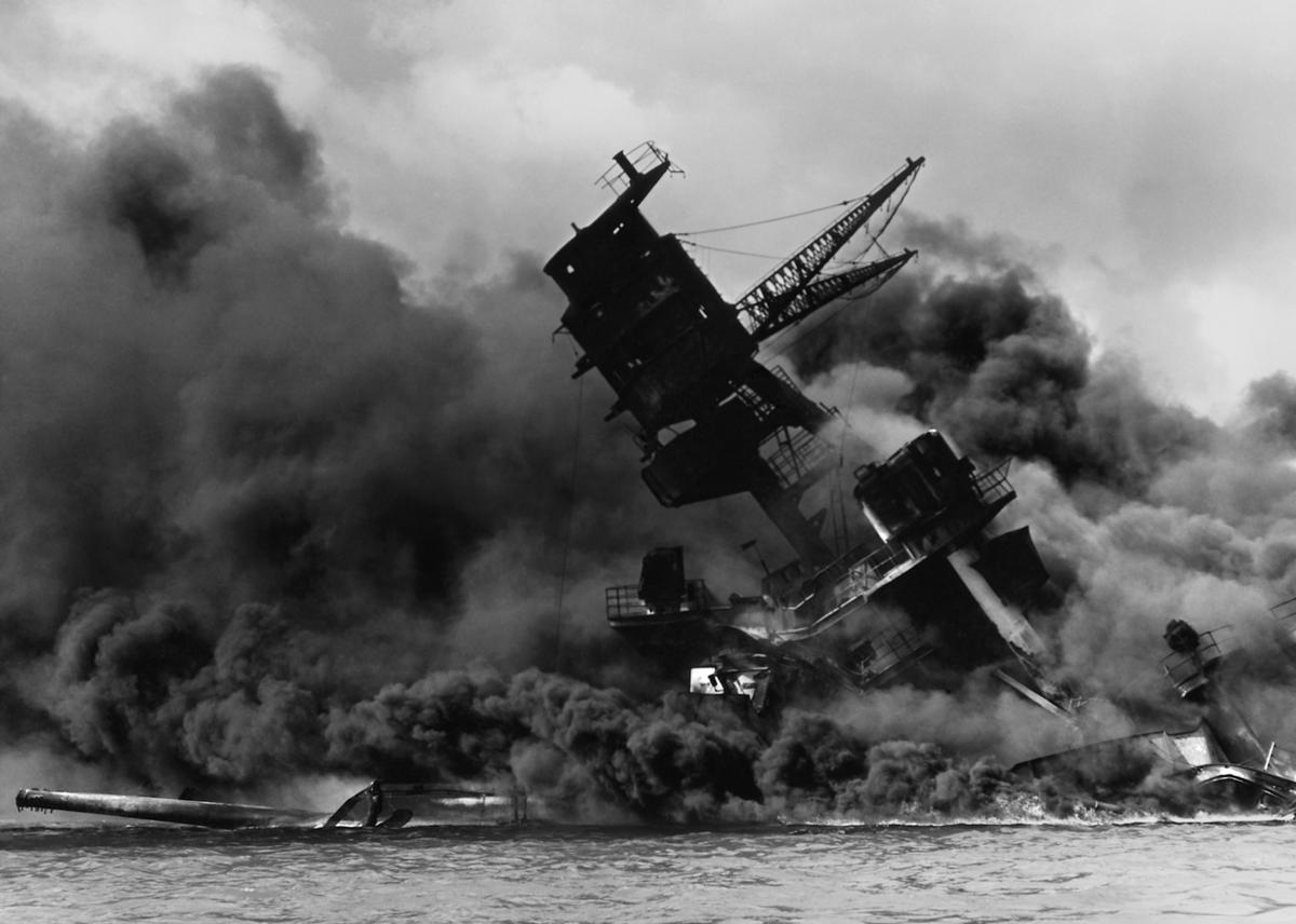 1941: Japan attacks Pearl Harbor; U.S. enters WWII