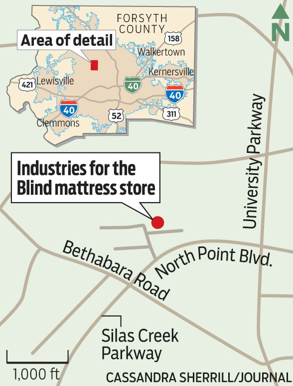 Winston Salem Industries For The Blind Re Opens Mattress
