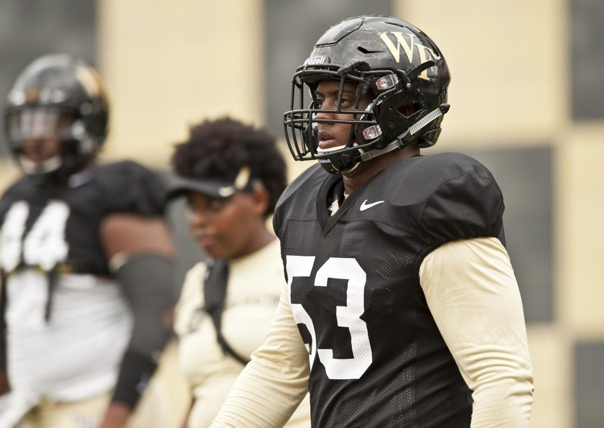 Wake Forest Scrimmage