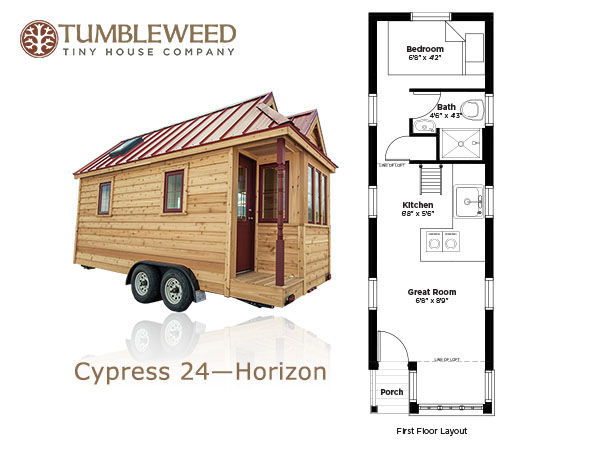 Big ideas inside tiny houses home garden for House design company