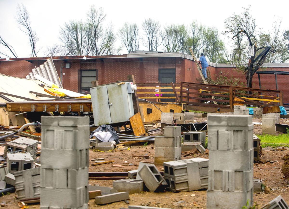 Modular Classroom Nc : Tornado strikes east greensboro galleries journalnow