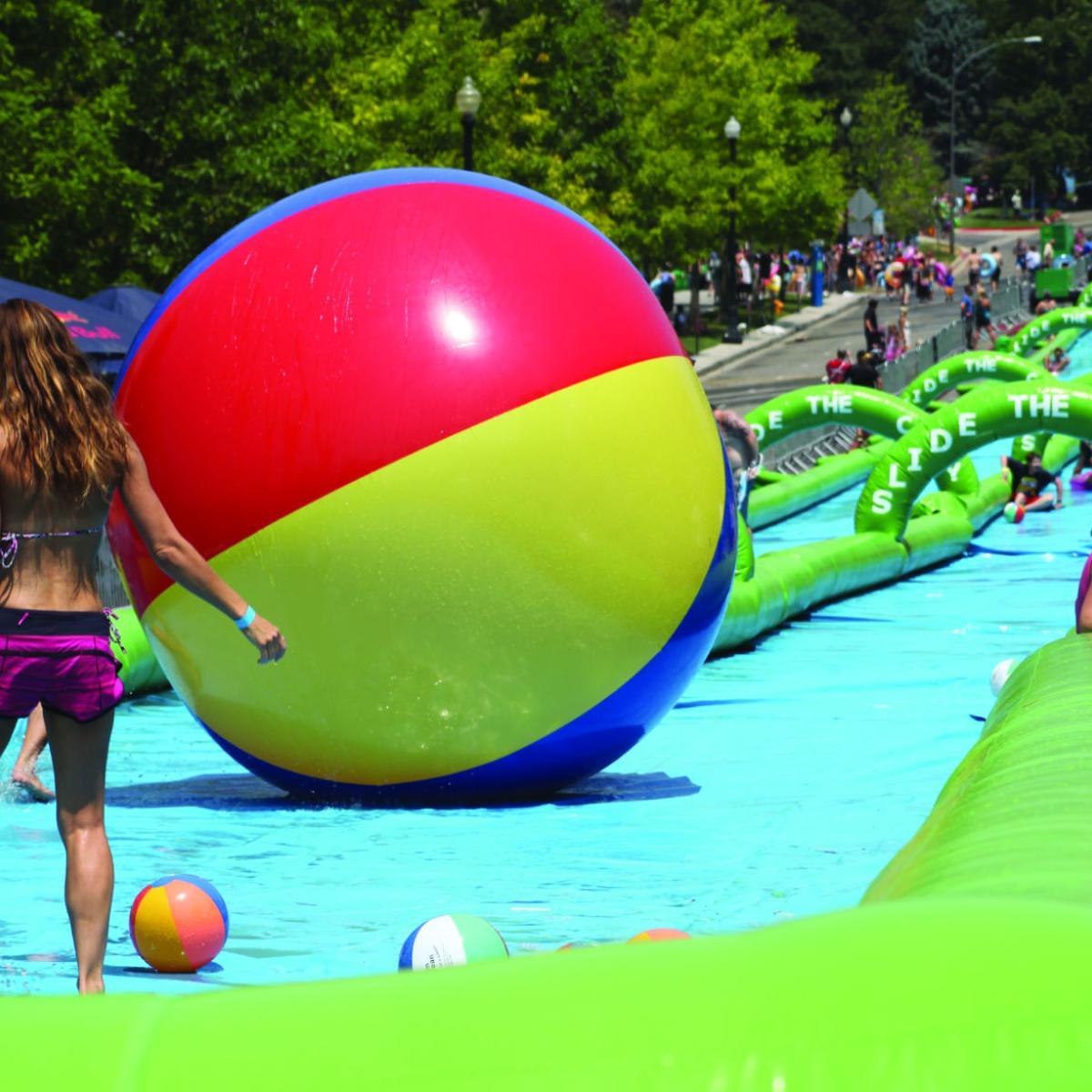 Slide the City drops Winston-Salem | Local News | journalnow com