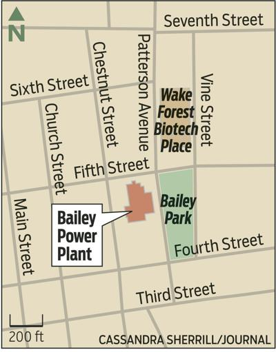 Bailey Power Plant map