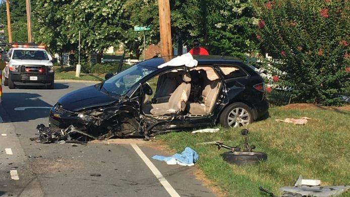Update: Kernersville Road reopened after vehicle accident