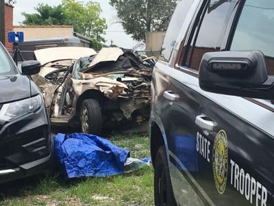 Pregnant passenger in car being chased by trooper dies after