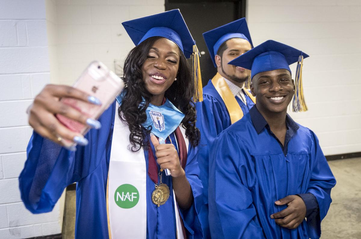 East Forsyth Carver High Schools Hold Graduation Ceremonies Local