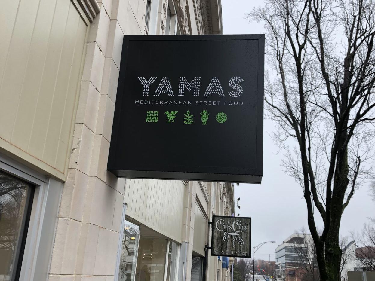 Yamas Mediterranean Street Food to open in downtown Winston-Salem in March