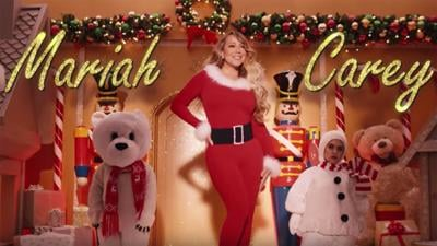 Mariah Carey has officially kicked off the Christmas season