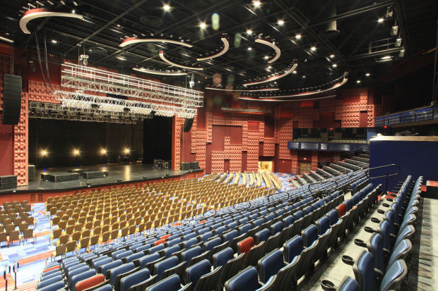 Winstar Casino Event Center Seating Chart Rose 2019
