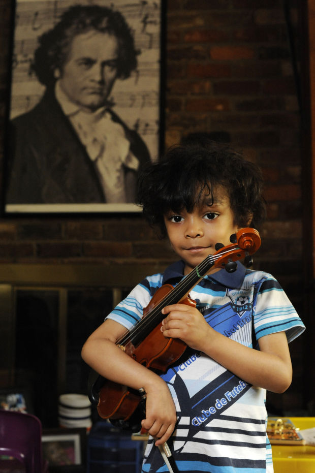 Child prodigy fights for every note | Local News