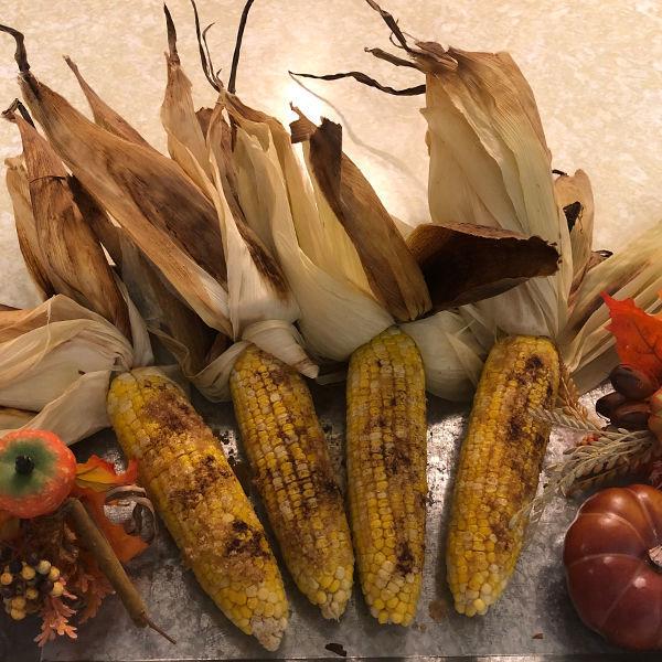 Roasted Pumpkin Spice Corn