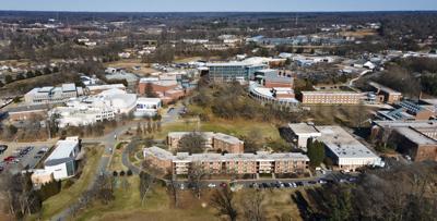 UNC School of the Arts campus aerial