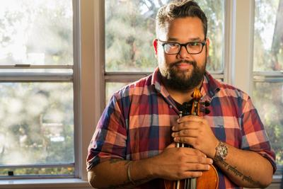Violinist Robert Vijay Gupta