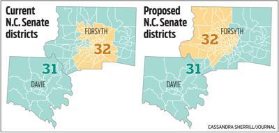 N.C. Senate districts