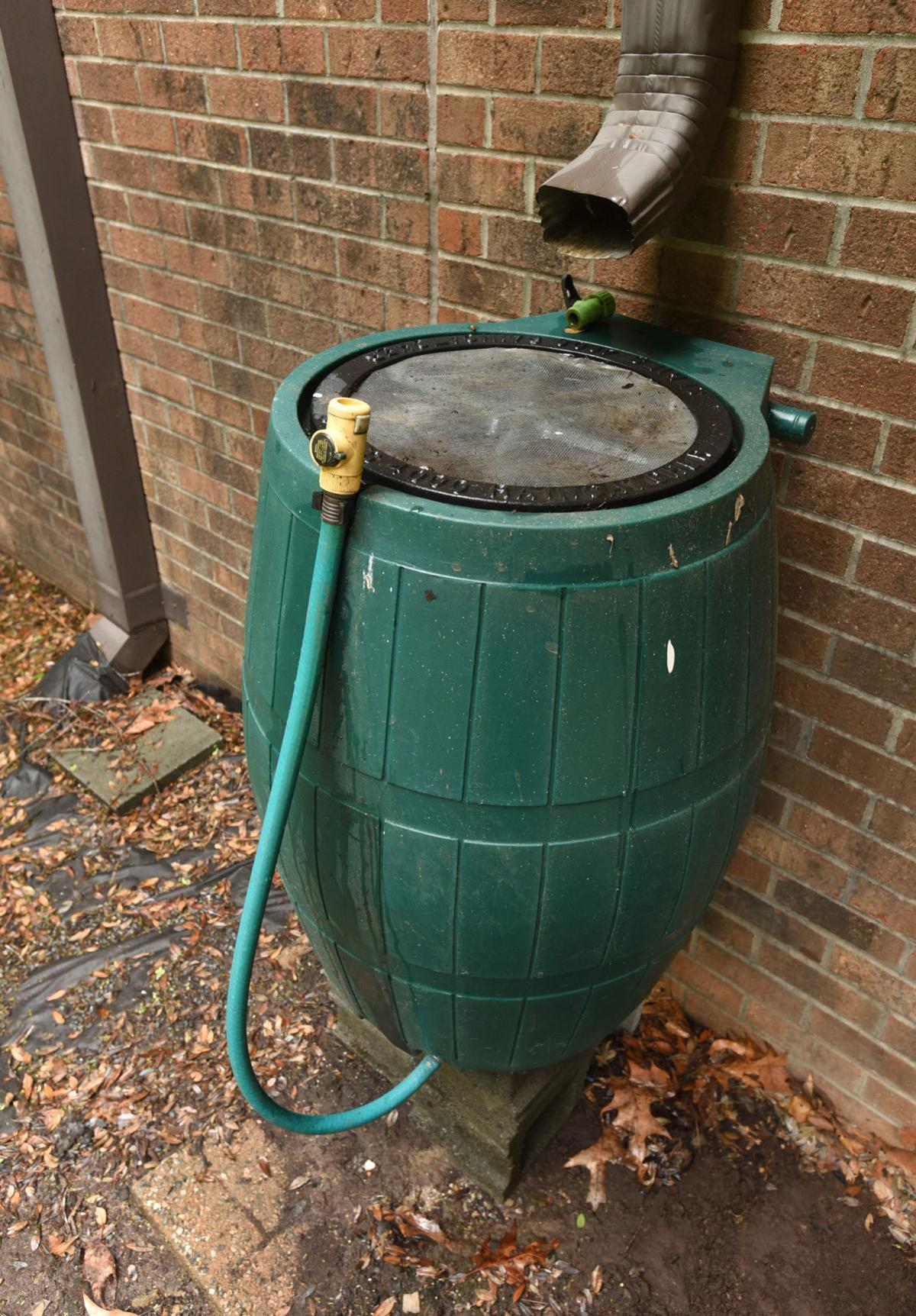Cisterns Barrels Help Collect Rainwater For Gardens Food