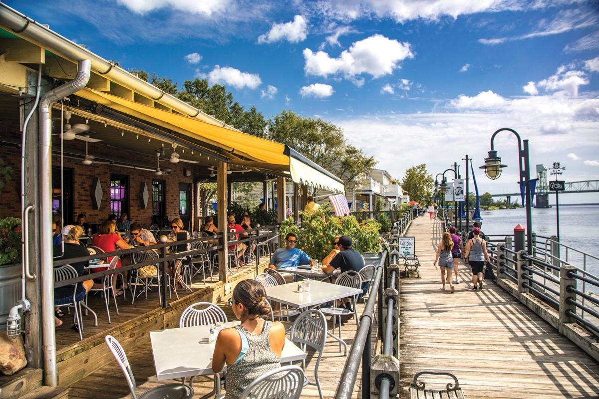 The George On the Riverwalk Restaurant Patio located on the Wilmington Riverwalk 3.jpg