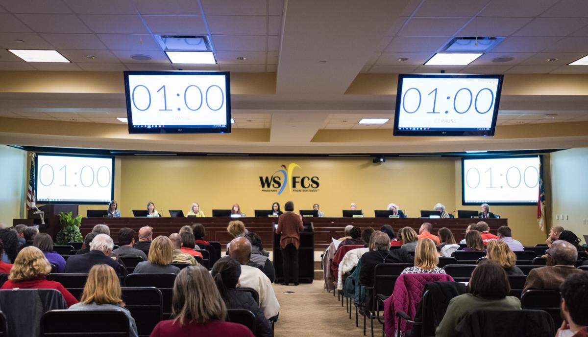WSFCS Board of Education Meeting