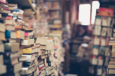 Books bookstore generic stock photo