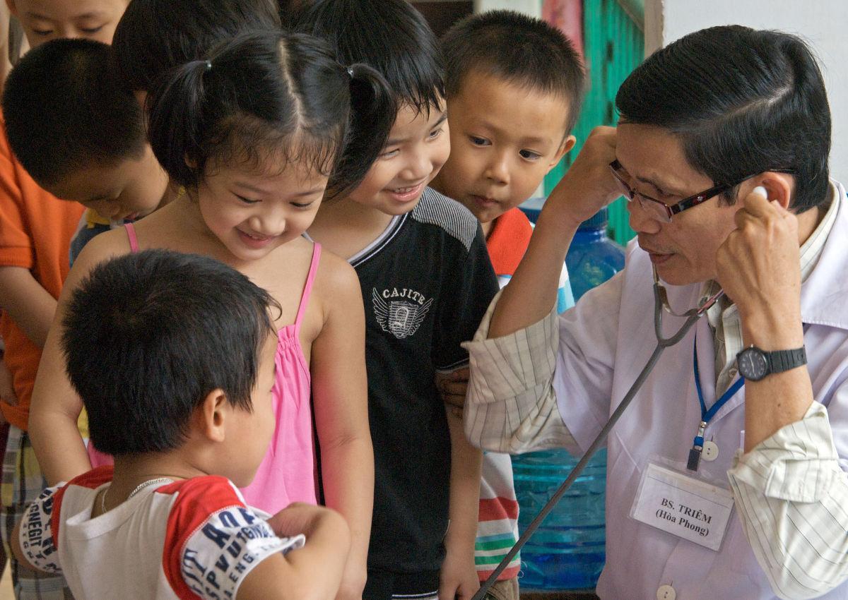 Children of Vietnam clinic