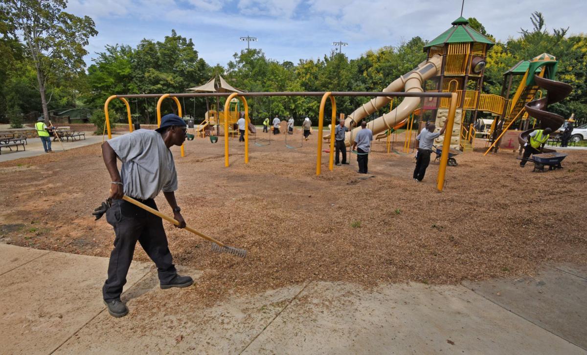 Hanes Park renovations
