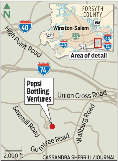 MAP: Pepsi bottling campus