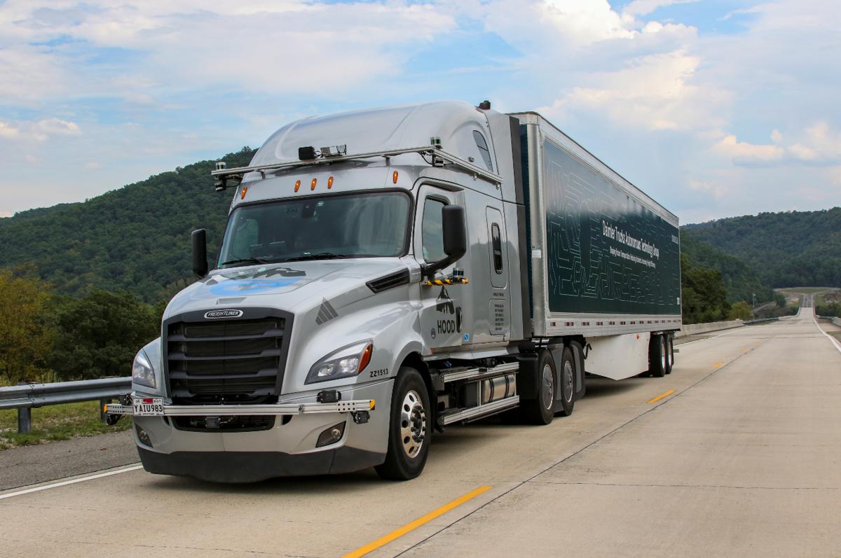 Daimler Trucks autonomous big rig