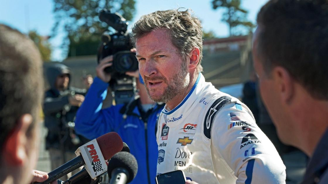 PHOTOS: Dale Jr., Tony Stewart and Clint Bowyer drive laps at Bowman Gray in NASCAR's Next Gen car