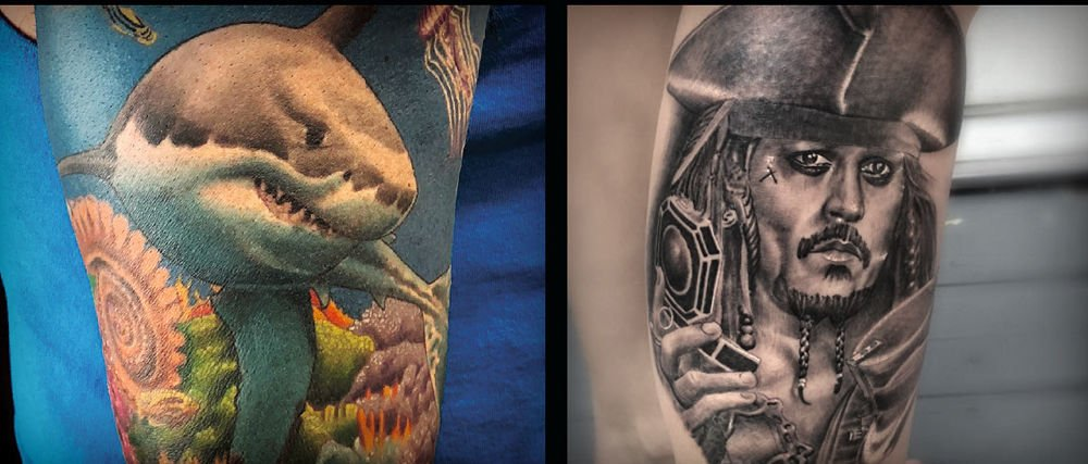 Ink city the rise of tattoo art winston salem monthly for Tattoo shops in winston salem nc