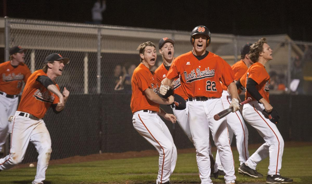 North Davidson stuns rival Ledford in late innings, clinches Central Carolina 2-A regular season ...