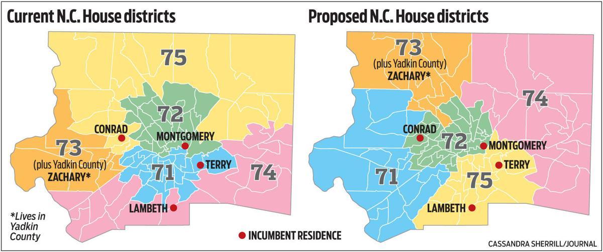 New N.C. House maps put incumbent Dems, Republicans in same ...