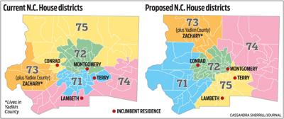 NC House districts