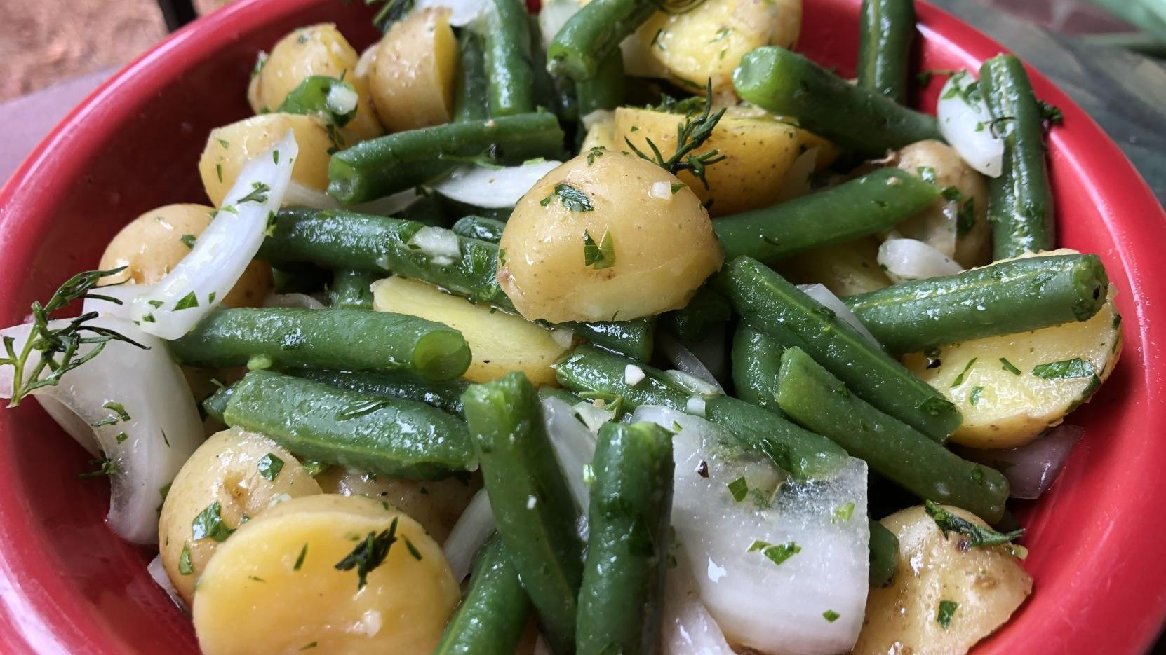 Carolina Kitchen Potato Salad Recipe