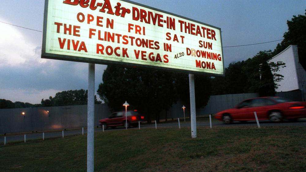 Bel Air Drive In Movie Theater Winston Salem Monthly Journalnow Com