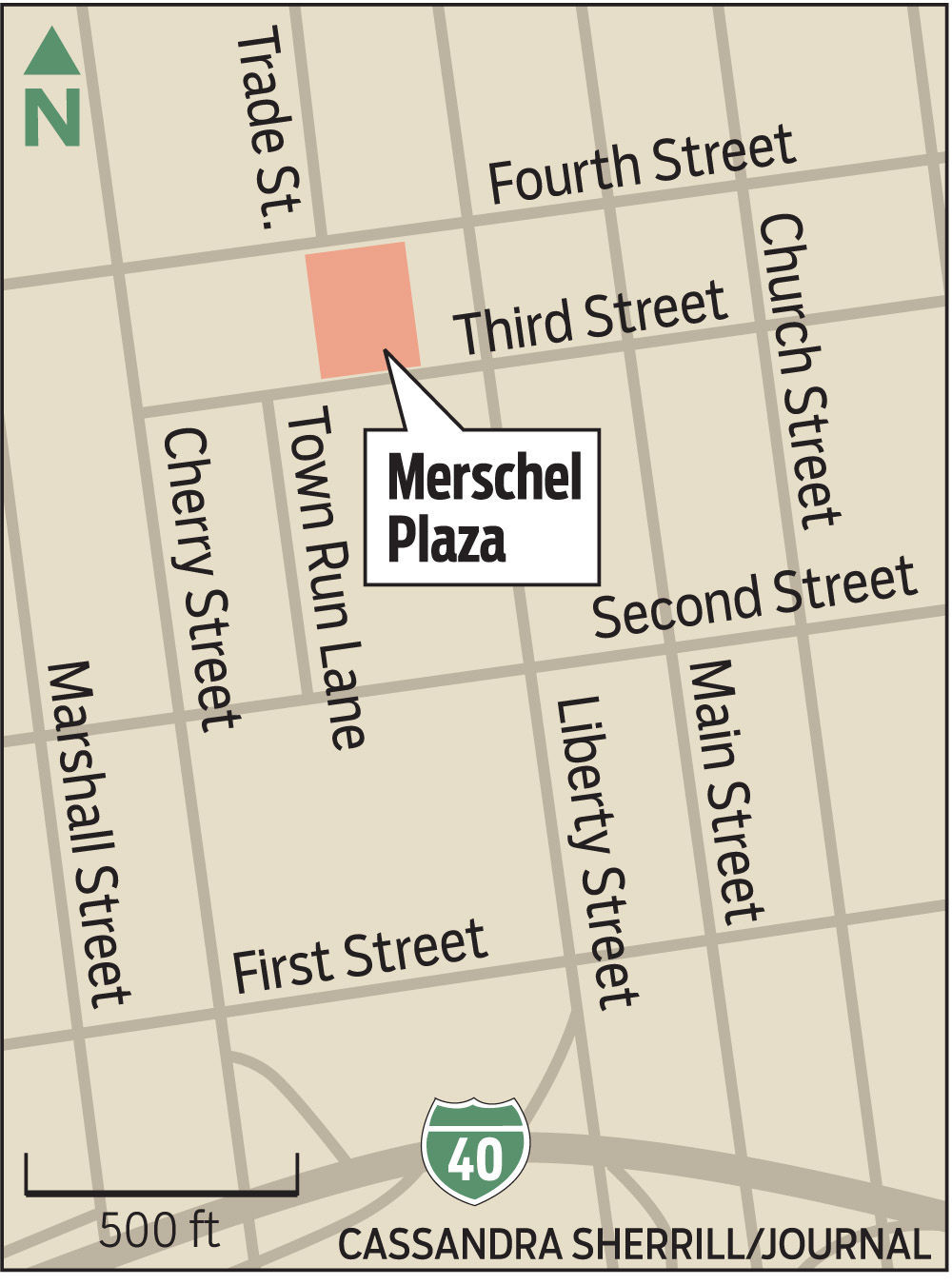 Central park in downtown Winston-Salem? City panel endorses paying partnership $4.6 million to finish Merschel Plaza with sidewalks, public restrooms | Winston Salem Journal