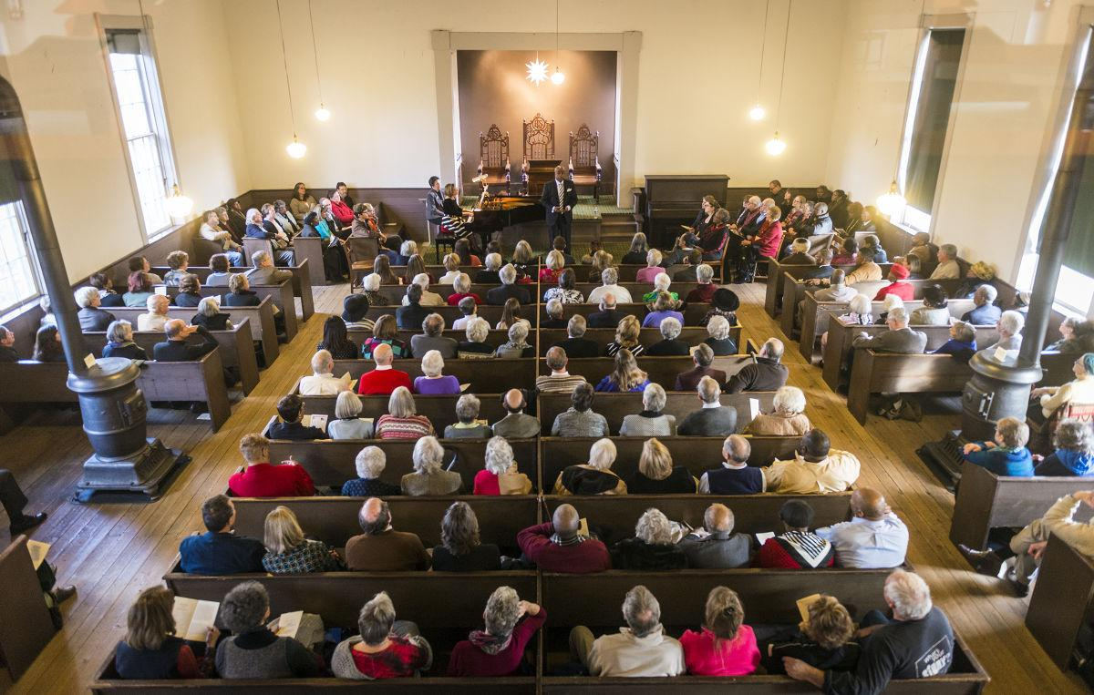 Spirited songs fill St  Philips Church in Old Salem | Local News