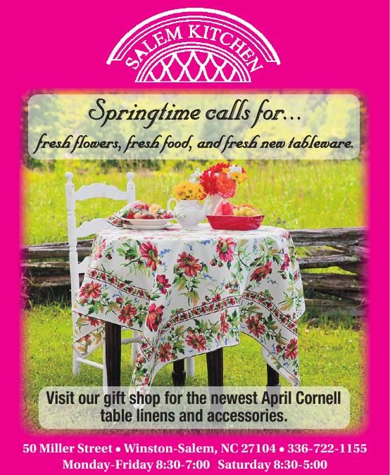 Springtime Shopping at Salem Kitchen | | journalnow.com