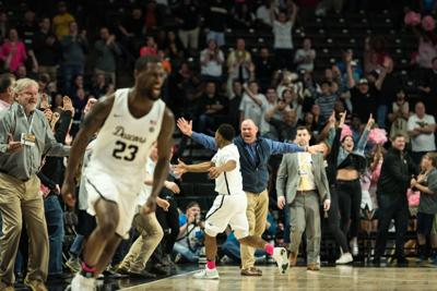 Wake Forest Pittsburgh Mens Basketball