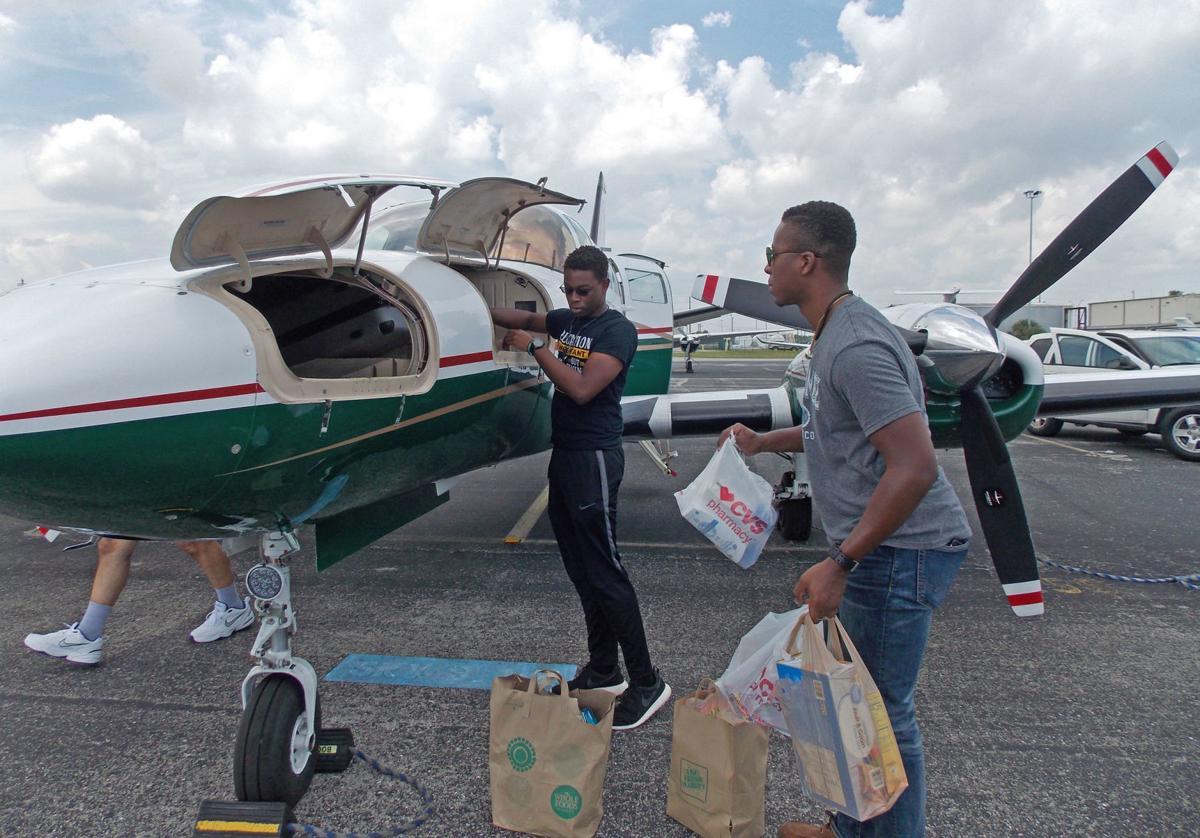 Valerie Lynn Booth Bahamian relief flights